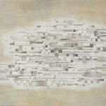 Lost Cluster, 2012, silverpoint and acrylic on TerraSkin paper, 7 x 8 in. [private collection]